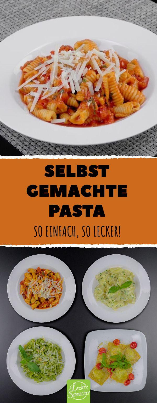 Selbst gemachte Pasta –  so einfach, so lecker! #pasta #nudeln #selbstgemacht #rezept #lecker