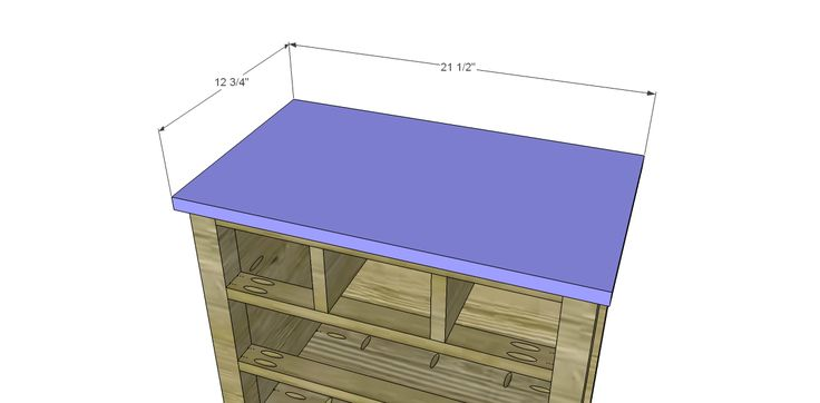 Plans to Build a Grandin Road Inspired Chloe Chest_Top