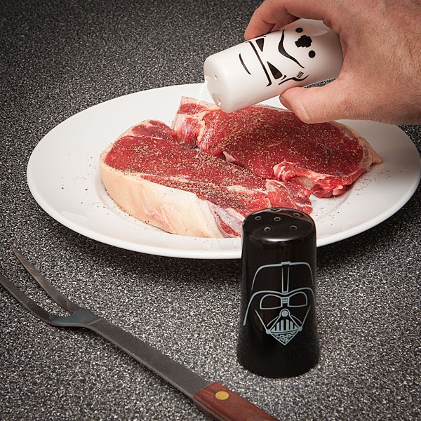 139 best star wars birthday party images on pinterest - Darth vader and stormtrooper salt and pepper shakers ...