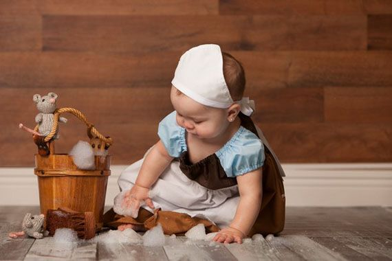 This Baby's Fairytale Photoshoot Is Magic - Cinderbaby