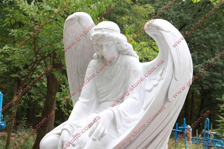 #Ангел из #Итальянского #мрамора #Carrara (#Каррара). #Мраморный ангел. Белый ангел.