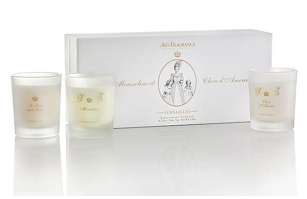 Arty Fragrance - Coffret Mousseline et Chou d'amour ( 3 Bougies de 70gr )