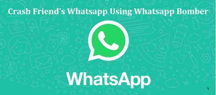 How to Crash Someones Whatsapp 2020 in 2020 Whatsapp