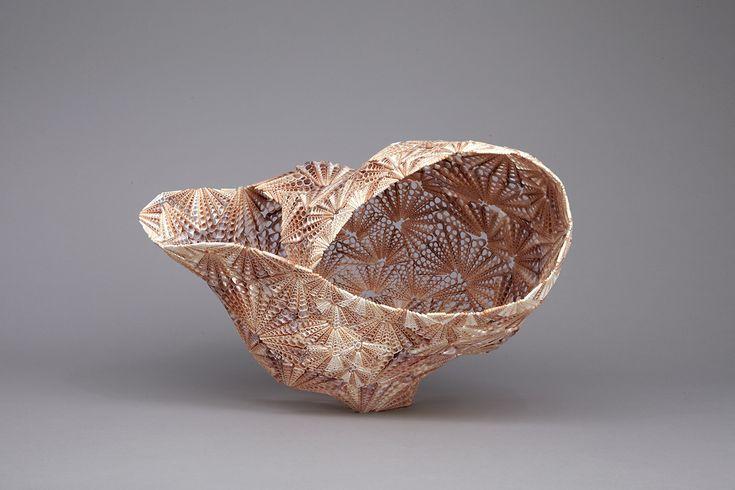 Mesmerizing Seashell Sculpture by Rowan Mersh