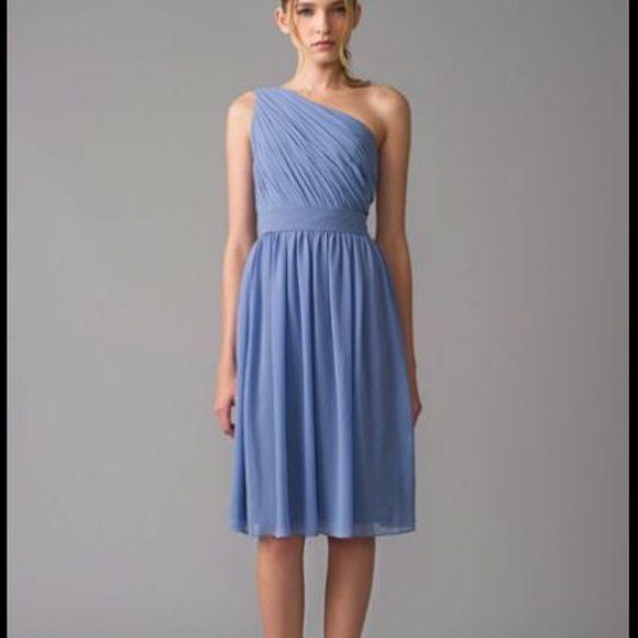 NWT $275 Monique Lhuillier Bliss Blue Dress 10 NWT $275 Monique Lhuillier Bliss Periwinkle Blue Dress Size 10 Monique Lhuillier Dresses Wedding