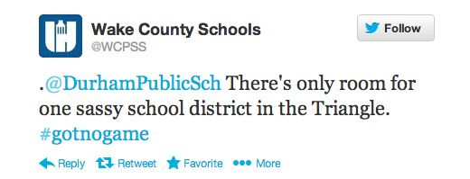 Oh and so this just happened: | Community Post: 16 Sassy Tweets From The Nation's 16th Largest School District