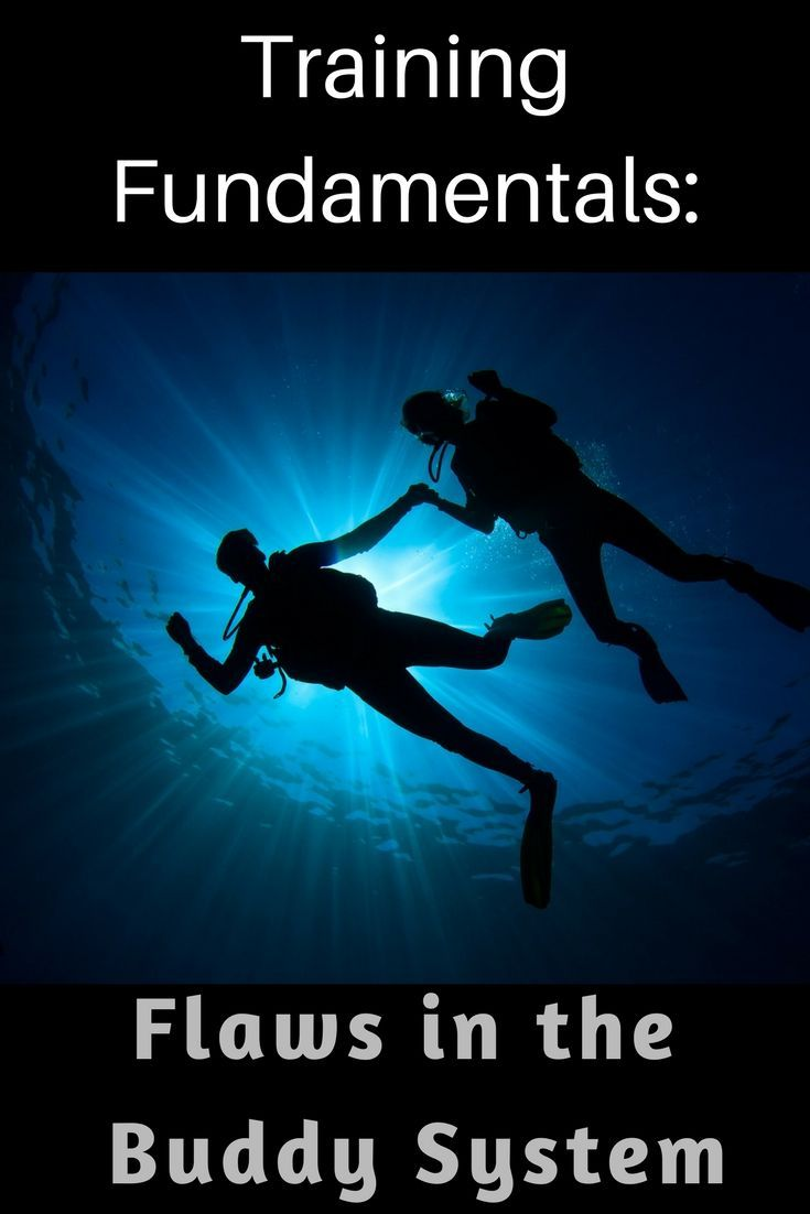 Training Fundamentals Flaws In The Buddy System Scuba Diver Life Diving Scuba Diver Diving Equipment