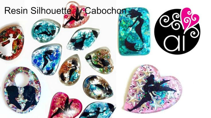 Resin Silhouette Cabochon Tutorial
