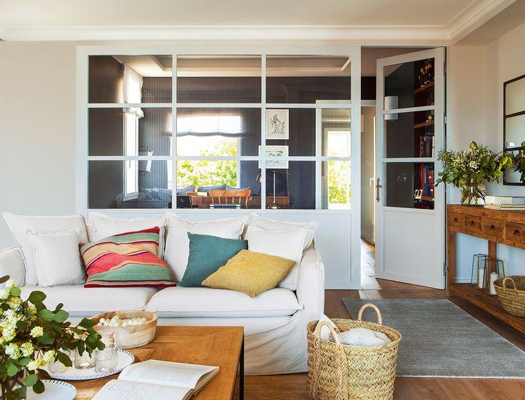17 mejores ideas sobre apartamento industrial en pinterest - Decorar las paredes del salon ...