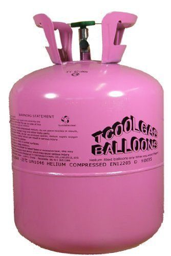 """Disposable Helium Tank Canister to fill 50 x 9"""" balloons Partyrama http://www.amazon.co.uk/dp/B003S5HPH0/ref=cm_sw_r_pi_dp_T4vcvb1HFCT0K"""