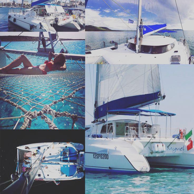 4 cabine per gli ospiti e 2 cabine equipaggio, date flessibili e programmi personalizzati! PRENOTA ORA #asinaracatamaran #noleggiocatamaranosardegna