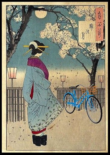 I like this Japanese Print