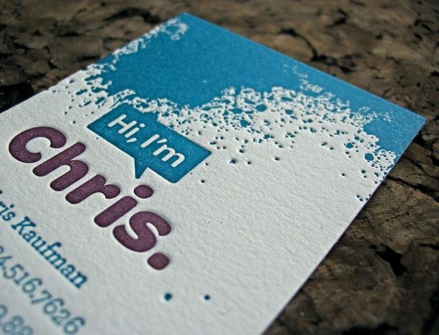 36 best inspiration letterpress business cards images on pinterest i love the rounded font printed on this card creative cardscreative business card designsembossed reheart Gallery