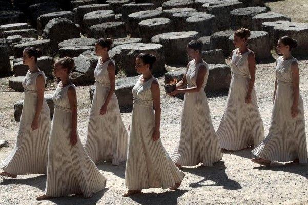 Cerimónia do acender da tocha olímpica para os Jogos Olímpicos de Inverno 2014 em Olímpia, Grécia. - 8 (© LUSA ORESTIS PANAGIOTOU)