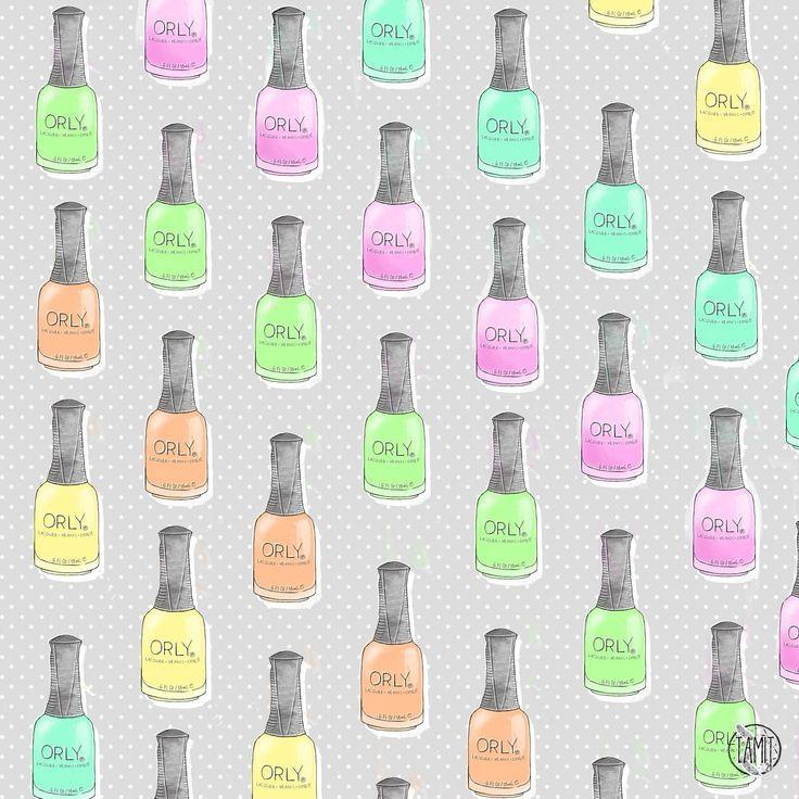 Free nailpolish patterns vol. 1: Essie