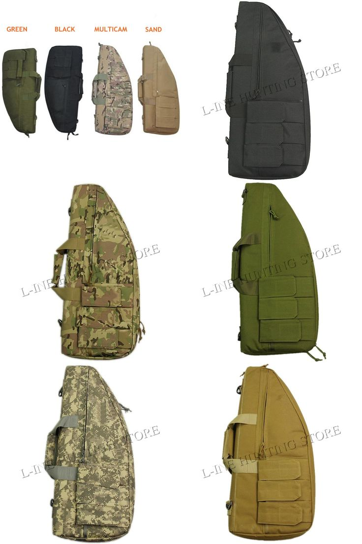 [Visit to Buy] 70cm Airsoft Tactical Gun Bag Hunting Shoulder Carbine Carrying Bags  Shooting Paintball Gun Case #Advertisement