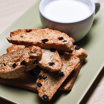 Biscottis aux bleuets séchés et aux amandes