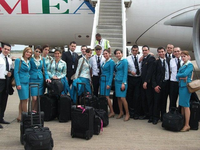 Middle East Airlines MEA cabin crew