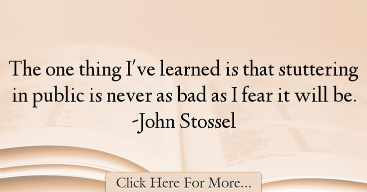 John Stossel Quotes About Fear - 22641