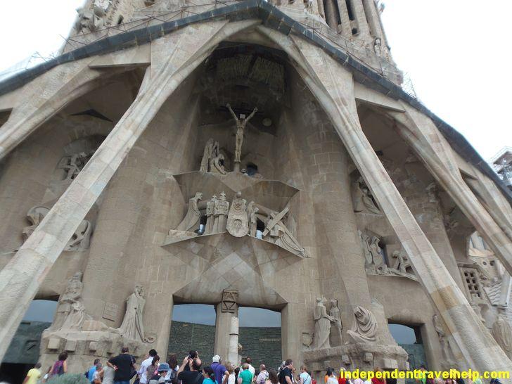 La Sagrada Familia in #barcelona