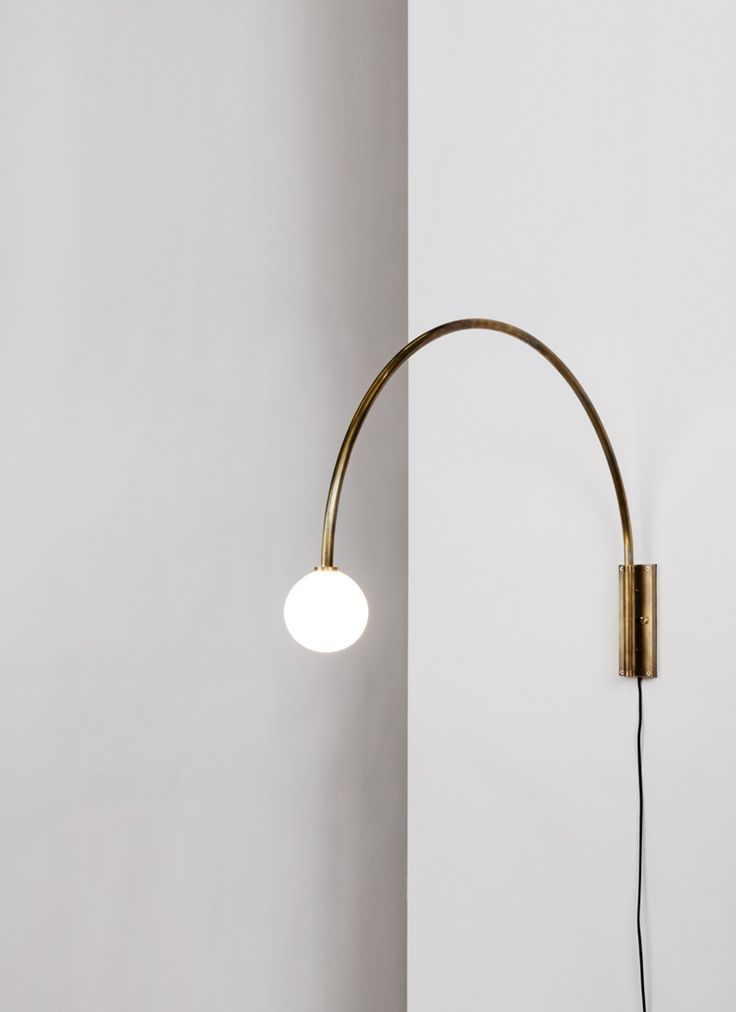 Aesence Blog Contour Wall Lamp by