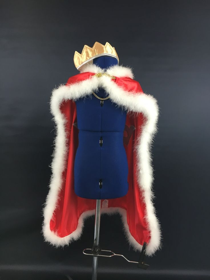 Make a cool DIY king cape!