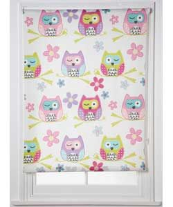 chad valley owl blackout roller blind 120 x 160cm 1999