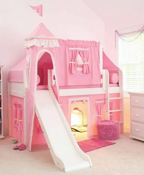 Princess Bunk Beds For Kids : Kids Loft Bed Castle. Castle Bunk Bed,kids  Loft Bed Castle,Princess Bunk Beds For Girls,princess Bunk Beds With Slide, Princess ...
