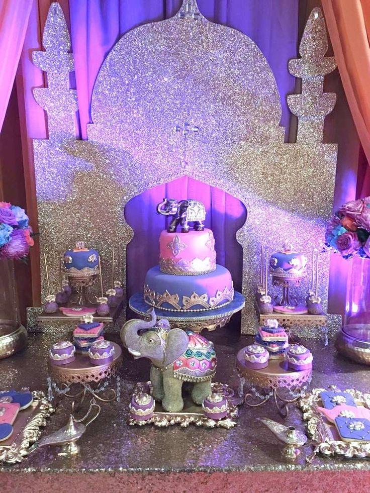Arabian Nights Birthday Party Ideas | Photo 1 of 13
