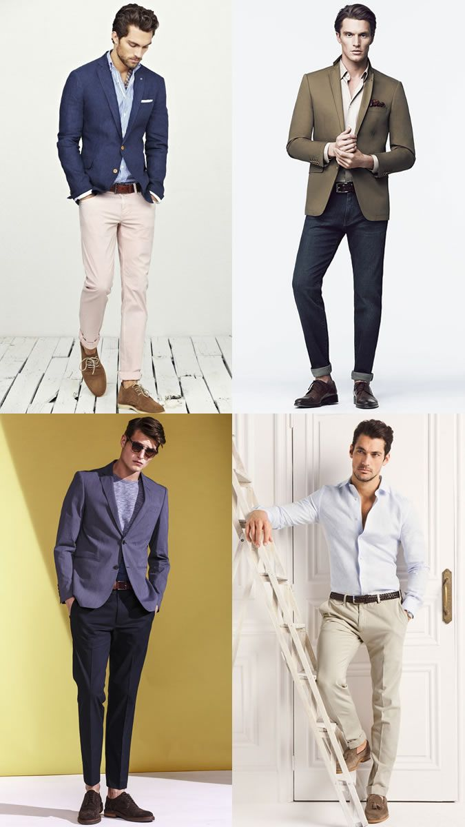 Men's Smart-Casual Dress Code Outfit Inspiration Lookbook