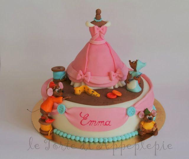 Cinderella dress cake- Torta vestito di Cenerentola