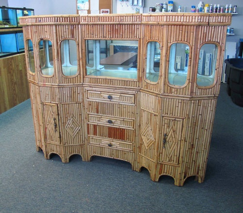 Custom fish tank stand and canopy woodworking projects for Fish tank stand plans