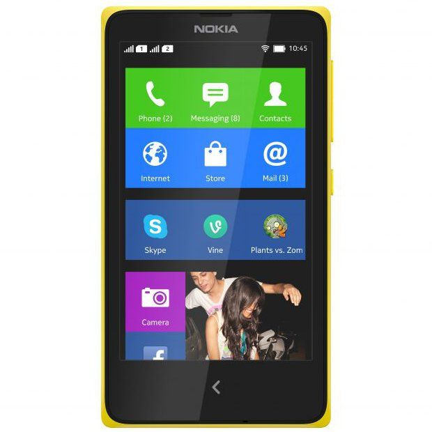 #Nokia X (front) - #MWC2014: Nokia X, X and XL Unveiled with #Android OS and #Fastlane UI - #Softpedia http://news.softpedia.com/news/MWC-2014-Nokia-X-X-and-XL-Unveiled-with-Android-OS-and-Fastlane-UI-428922.shtml