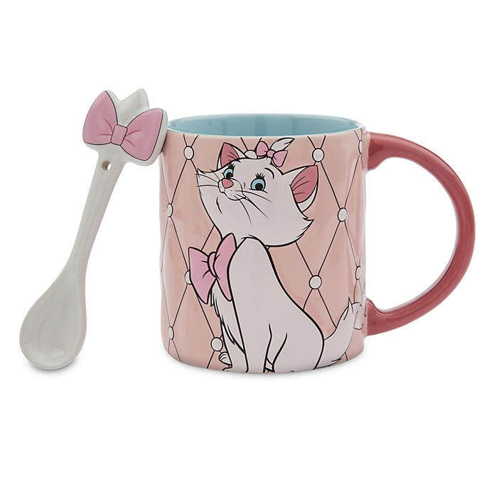Disney Store Mug Et Cuillère Marie Décor De Cuisine Disney Marie Aristochat Décorations Disney