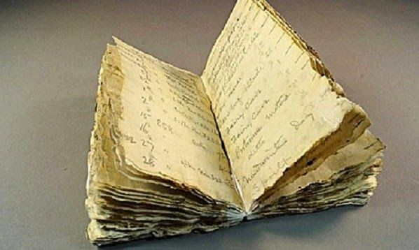 Thaw reveals photographer's notebook from Captain Scott's Antarctic hut |via`tko The Archaeology News Network