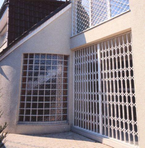 Rejas para ventanas y puertas protectores met licas - Puertas de reja ...