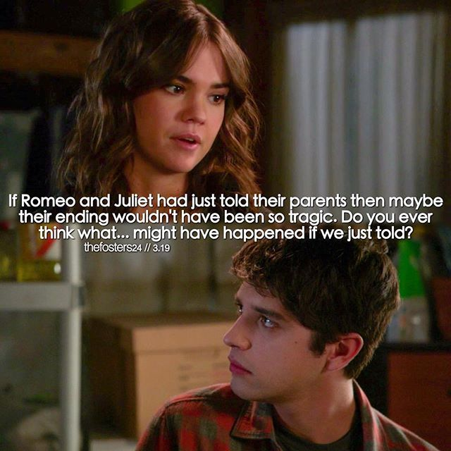 """#TheFosters 3x19 """"The Show"""" - Callie and Brandon"""