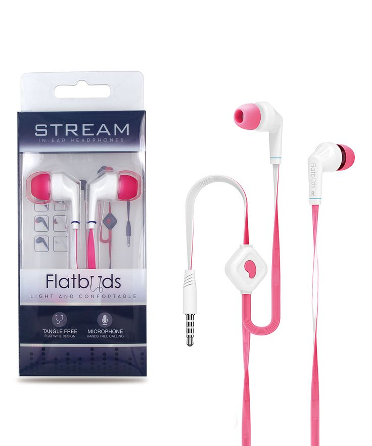 Pink iPanda Noise-Isolating Earbuds