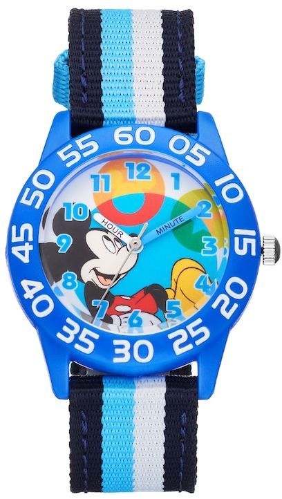 Disney Disney's Mickey Mouse Boys' Time Teacher Watch