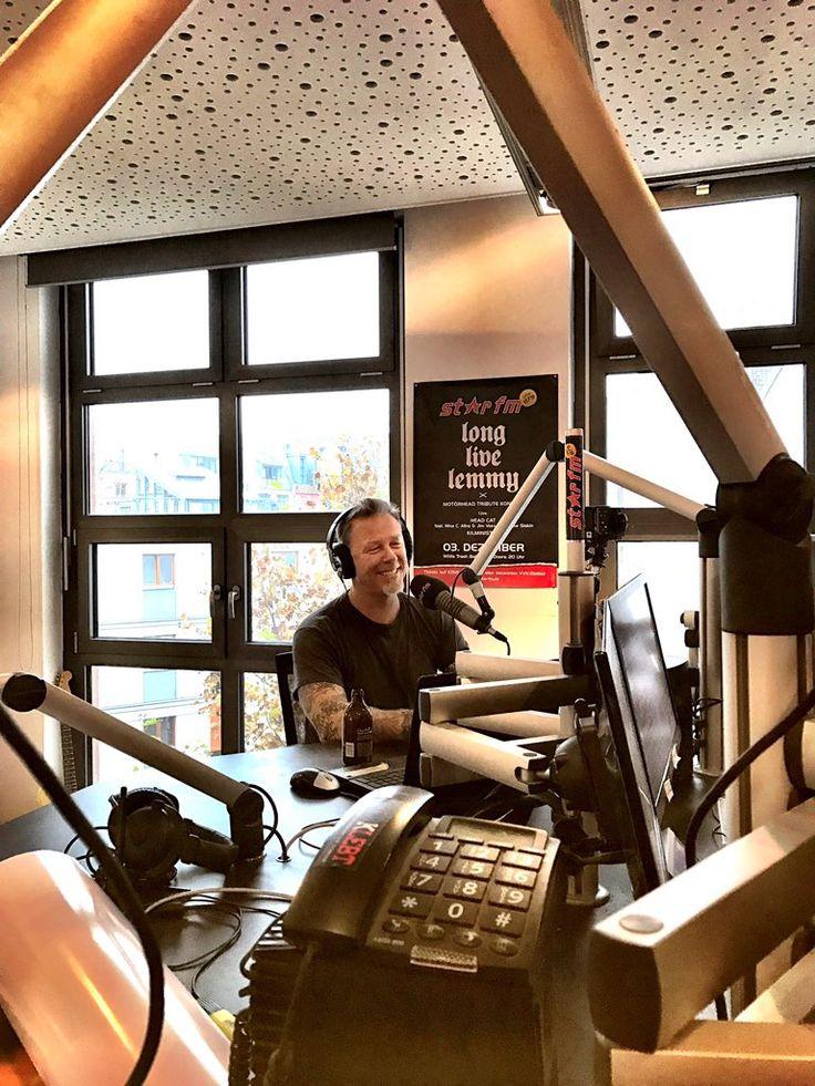 Metallica James Hetfield Star FM live Berlín November 16/2016!!!