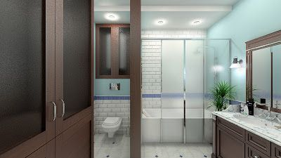 Sergey Batarchuk: Дизайн интерьера ванной комнаты BY NANADESIGN г. С...