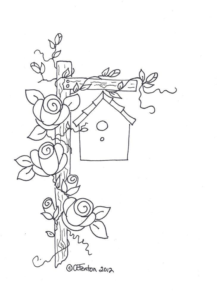A Little Birdie Birdhouse