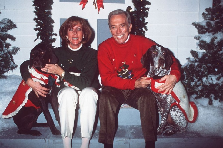 Christmas, at home with Andy Williams' family: wife ...