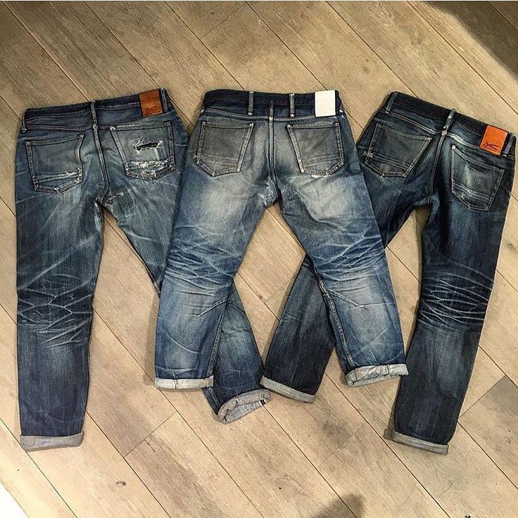 Triptyque #denim #jeans #indigo #selvedge #menswear #fashion #indigo #mode #style