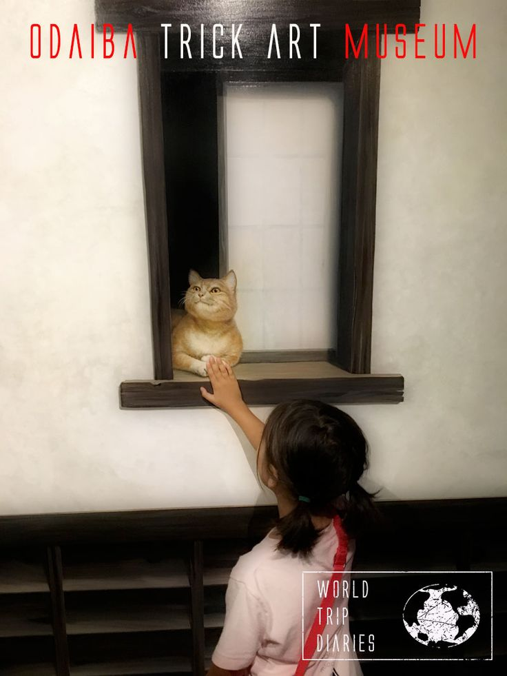 Visiting Tokyo Trick Art Museum with kids - World Trip Diaries