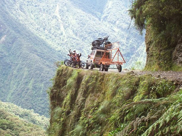Mountain Biking Photos - Death Road | The Travel Tart Blog #travelpinspiration