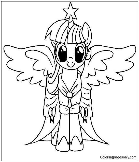 my little pony malvorlagen coloring page http