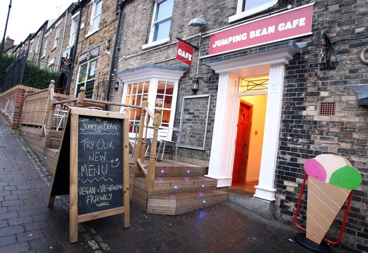 The Jumping Bean Cafe in Durham. Recommended by Linda Yearling.