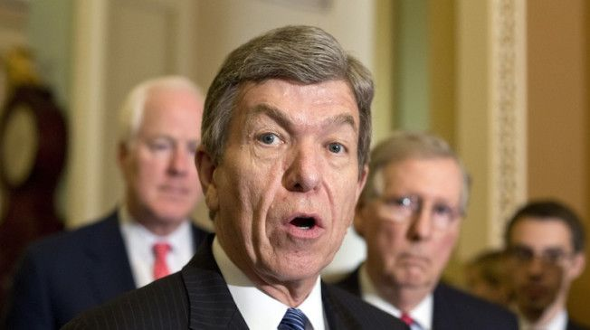 Sen. Roy Blunt (R-MO) came out in opposition of the House Republicans' proposal to extend the debt ceiling for six weeks, according to CBS News.