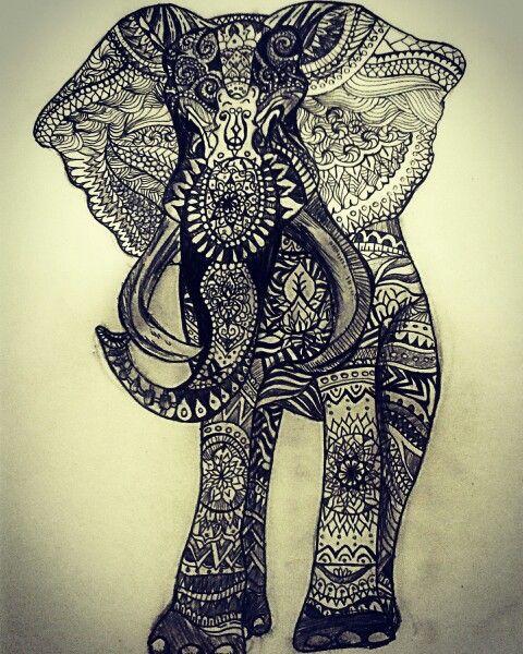 Mandala elaphant